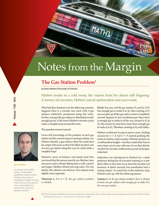 Notes from the Margin VIII