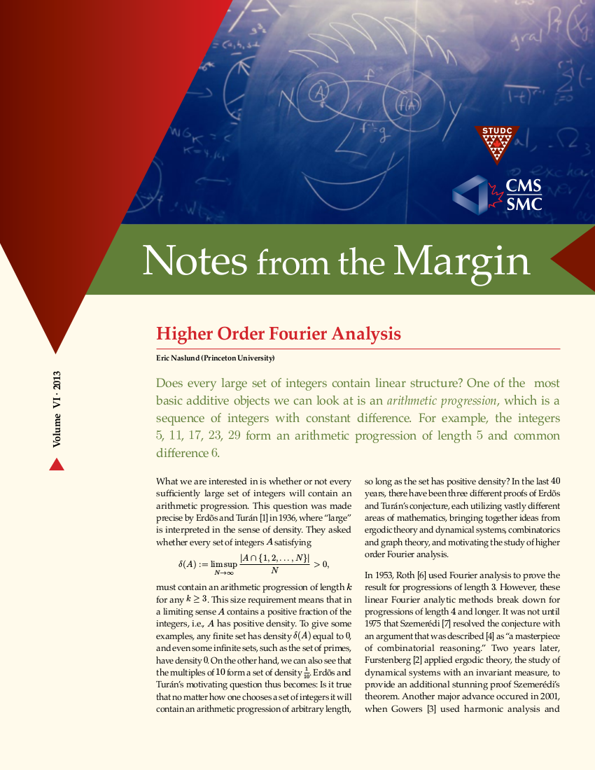 Notes from the Margin VI