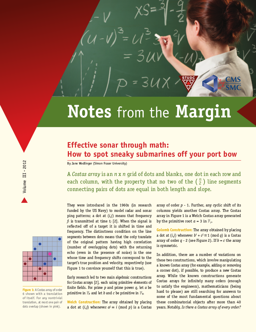 Notes from the Margin III