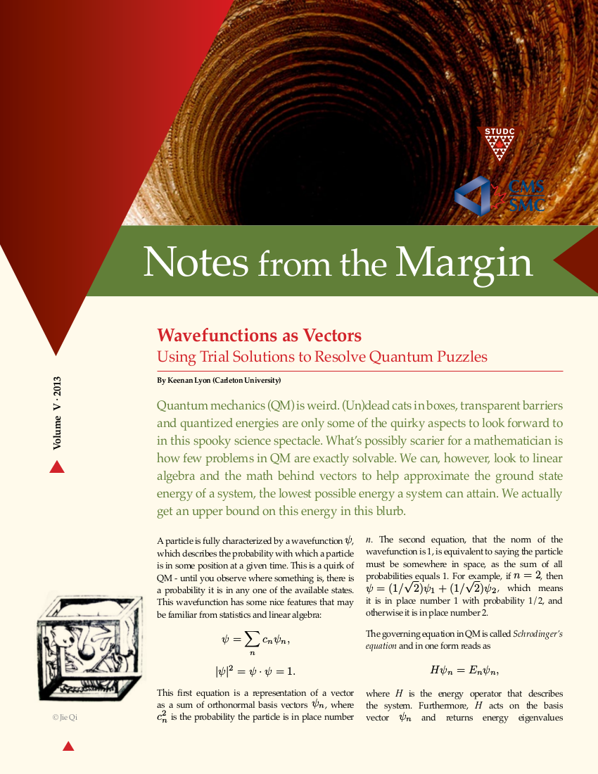 Notes from the Margin V