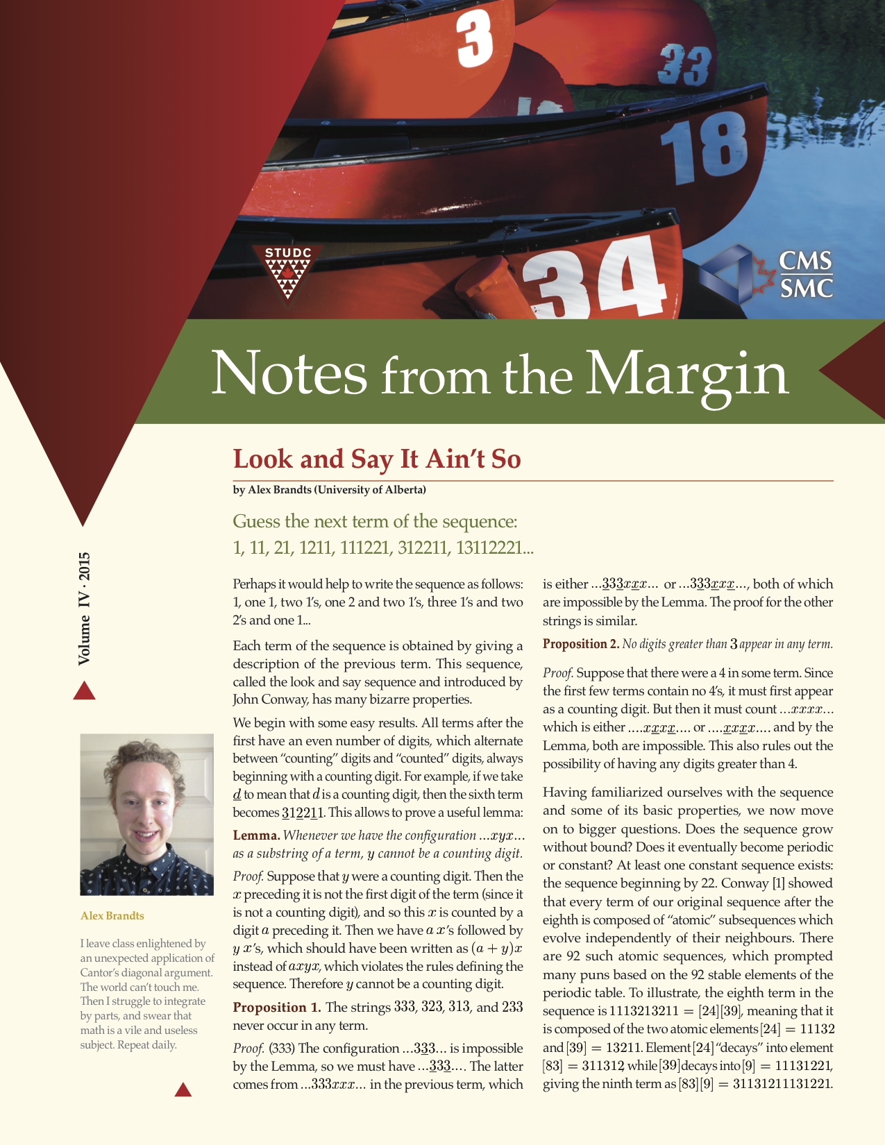 Notes from the Margin IX