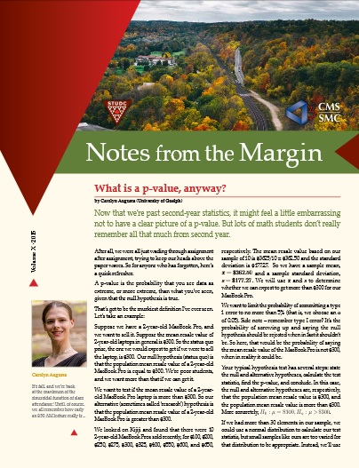 Notes from the Margin X