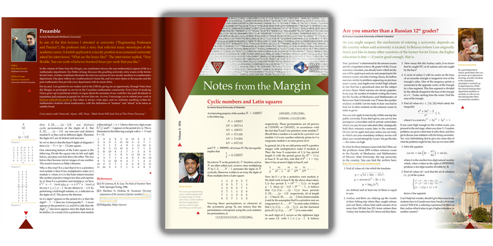 Notes from the Margin XI