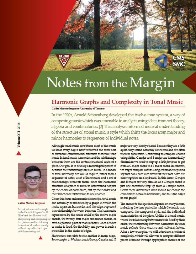 Notes from the Margin XII