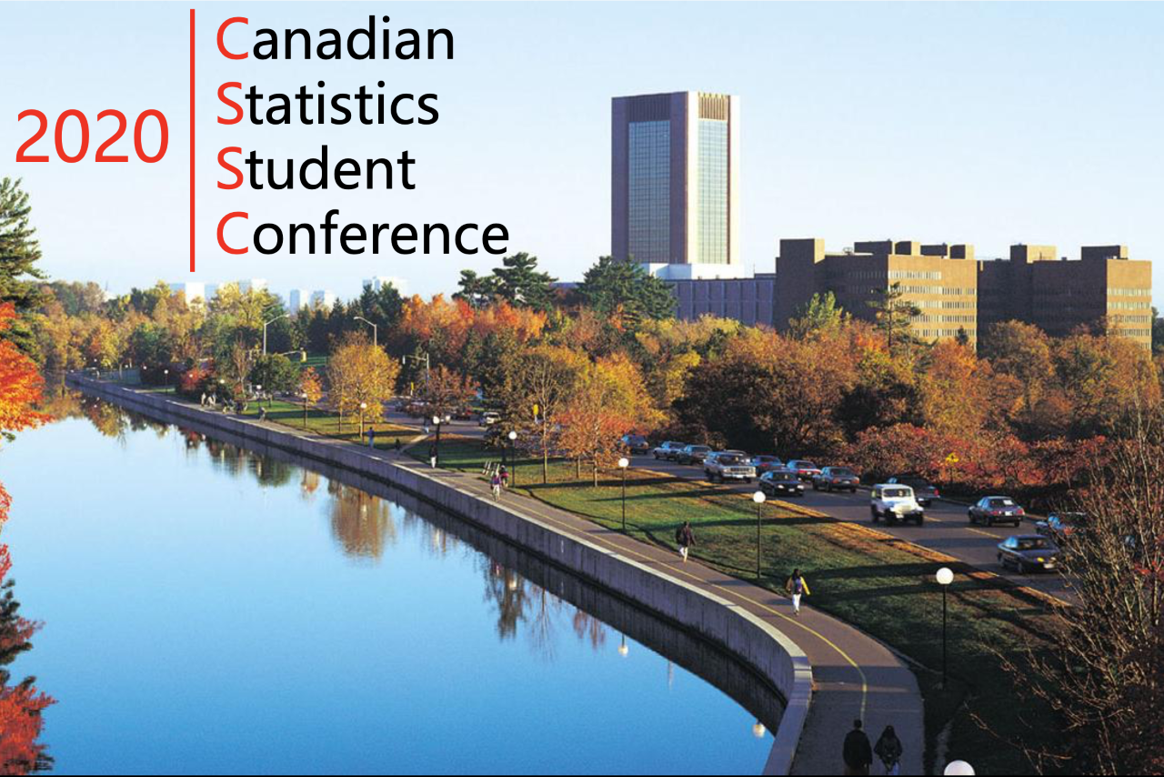 CSSC conference with photo of a river and city